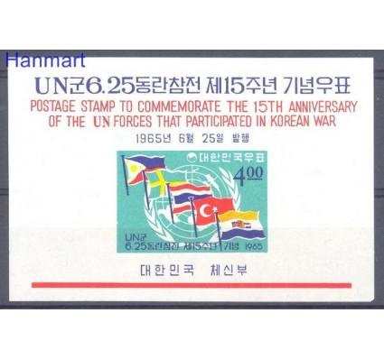Znaczek Korea Południowa 1965 Mi bl 212 Czyste **