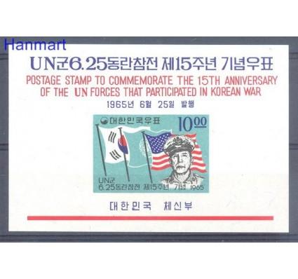 Korea Południowa 1965 Mi bl 213 Czyste **