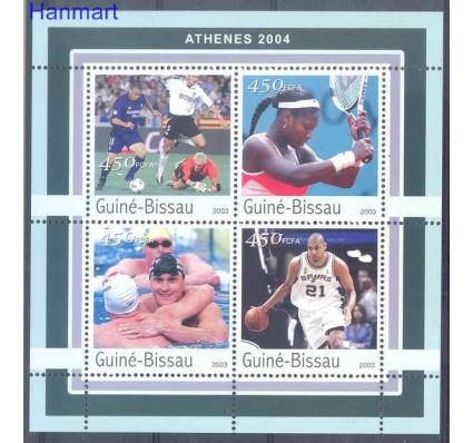 Znaczek Gwinea Bissau 2003 Mi 2064-2067 Czyste **