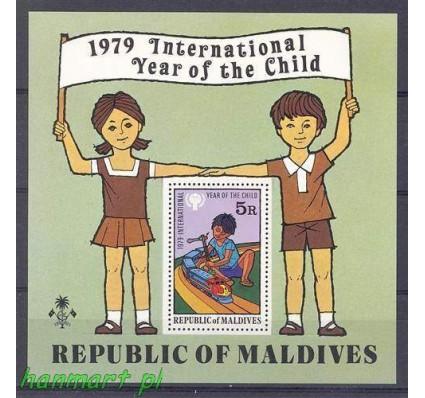 Znaczek Malediwy 1979 Mi bl 57 Czyste **