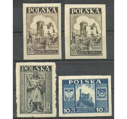 Znaczek Polska 1946 Mi 441a,b-443 Fi 408a+b-410 Czyste **