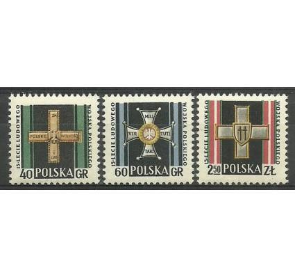 Polska 1958 Mi 1069-1071 Fi 924-926 Czyste **