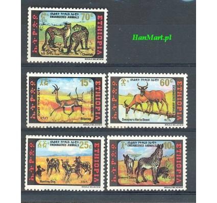 Znaczek Etiopia 1980 Mi 1055-1059 Czyste **