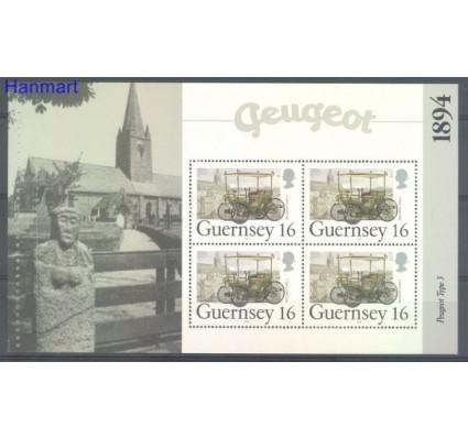 Guernsey 1994 Mi h-blatt O-20 Czyste **