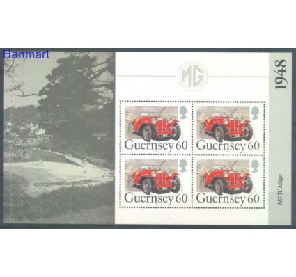 Guernsey 1994 Mi h-blatt O-24 Czyste **