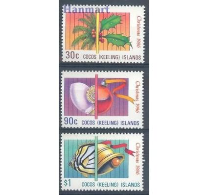 Znaczek Wyspy Kokosowe / Keelinga 1986 Mi 163-165 Czyste **