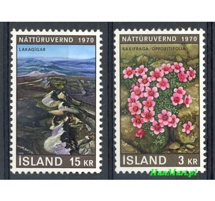 Znaczek Islandia 1970 Mi 447-448 Czyste **