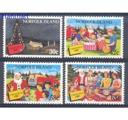 Znaczek Norfolk 1987 Mi 425-428 Czyste **