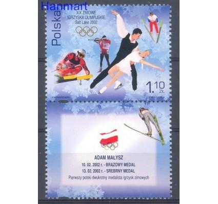 Znaczek Polska 2002 Mi zf 3952 Fi zf 3802 Czyste **