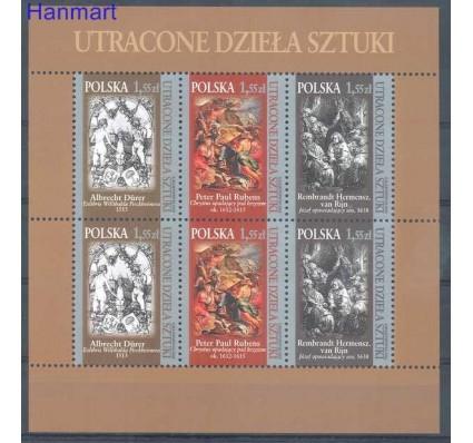 Polska 2009 Mi ark 4460-4462 Fi ark 4310-4312 Czyste **