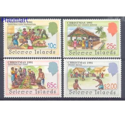 Znaczek Wyspy Salomona 1991 Mi 759-762 Czyste **