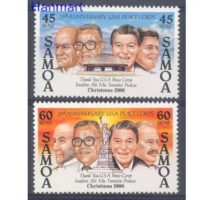 Samoa 1986 Mi 605-606 Czyste **