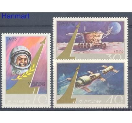 Znaczek Korea Północna 1975 Mi 1353-1355 Czyste **