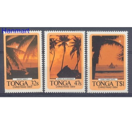 Znaczek Tonga 1984 Mi 902-904 Czyste **