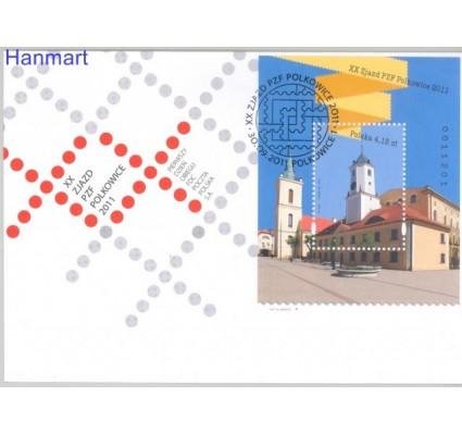 Polska 2011 Mi bl 199 Fi bl 231 FDC