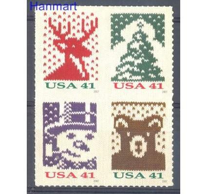 Znaczek USA 2007 Mi 4318-4321BA Czyste **
