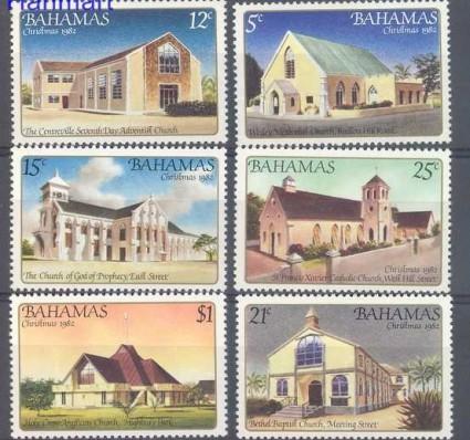 Znaczek Bahamy 1982 Mi 524-529 Czyste **