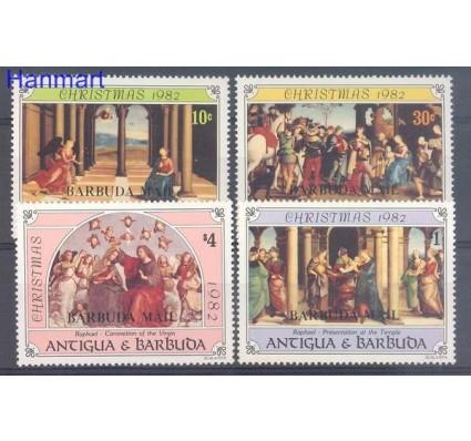 Znaczek Barbuda 1982 Mi 640-643 Czyste **