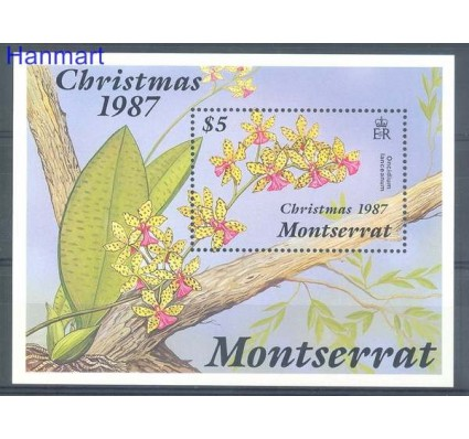 Znaczek Montserrat 1987 Mi bl 46 Czyste **