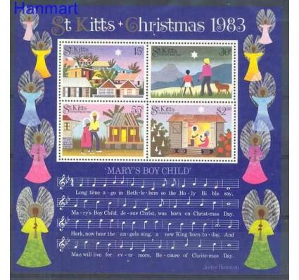 Znaczek Saint Kitts 1983 Mi bl 4 Czyste **