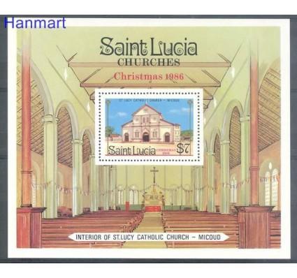 Saint Lucia 1987 Mi bl 52 Czyste **