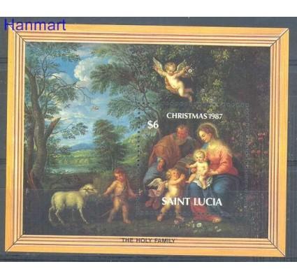 Znaczek Saint Lucia 1987 Mi bl 55 Czyste **