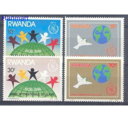Znaczek Rwanda 1986 Mi 1354-1357 Czyste **