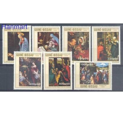 Znaczek Gwinea Bissau 1989 Mi 1104-1110 Czyste **