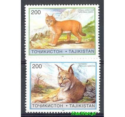 Znaczek Tadżykistan 1996 Mi 98-99 Czyste **