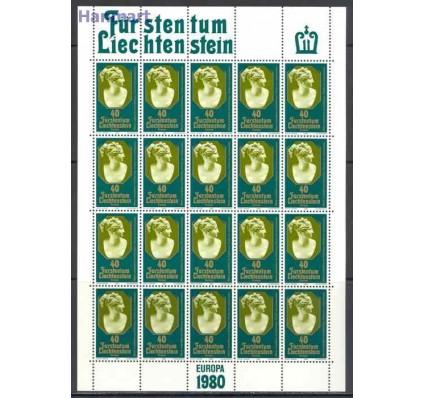Znaczek Liechtenstein 1980 Mi ark 741-742 Czyste **