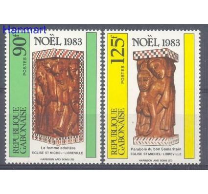Znaczek Gabon 1983 Mi 886-887 Czyste **
