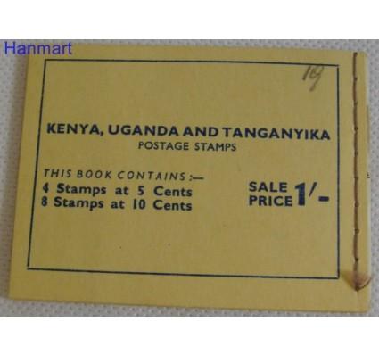 Znaczek Kenia Uganda Tanganyika 1954 Mi 92-93 Czyste **