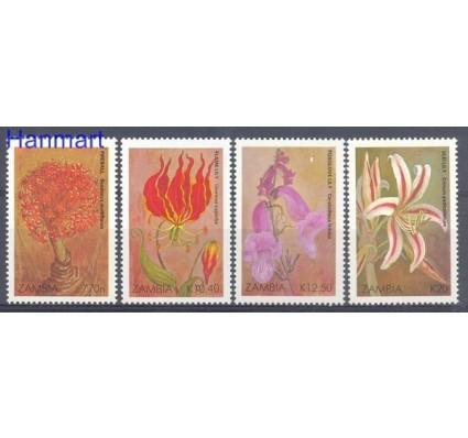 Znaczek Zambia 1989 Mi 507-510 Czyste **