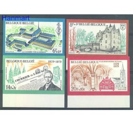 Znaczek Belgia 1979 Mi 1992-1995B Czyste **