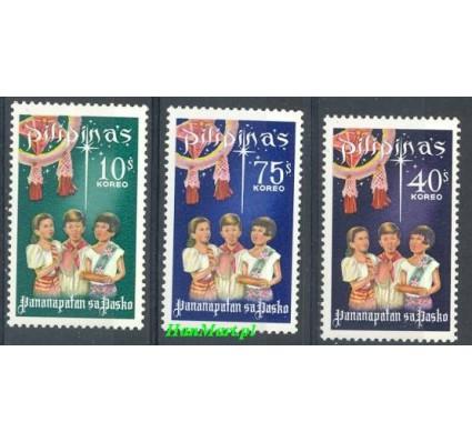 Znaczek Filipiny 1968 Mi 863-865 Czyste **