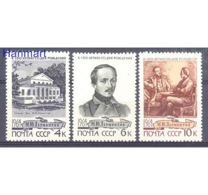 Znaczek ZSRR 1964 Mi 2972-2974 Czyste **