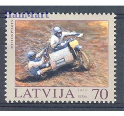 Znaczek Łotwa 2003 Mi 599 Czyste **
