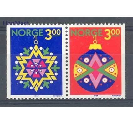 Znaczek Norwegia 1989 Mi 1035-1036 Czyste **