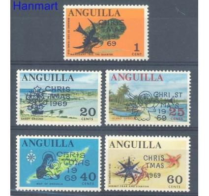 Znaczek Anguilla 1969 Mi 78-82 Czyste **