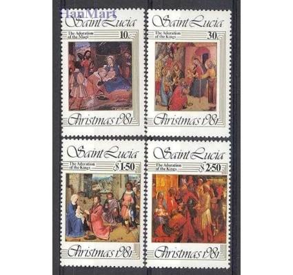 Znaczek Saint Lucia 1981 Mi 564-567 Czyste **