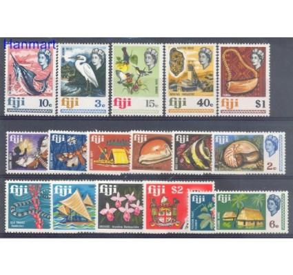 Znaczek Fidżi 1969 Mi 232-248 Czyste **