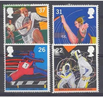 Wielka Brytania 1991 Mi 1341-1344 Czyste **