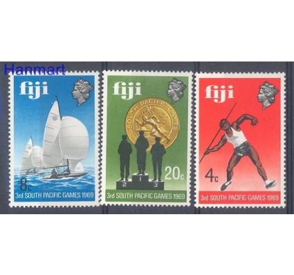 Znaczek Fidżi 1969 Mi 252-254 Czyste **