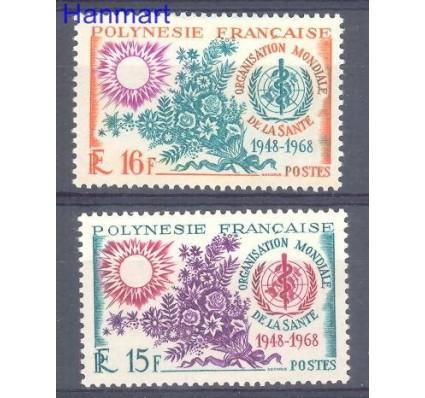 Znaczek Polinezja Francuska 1968 Mi 84-85 Czyste **