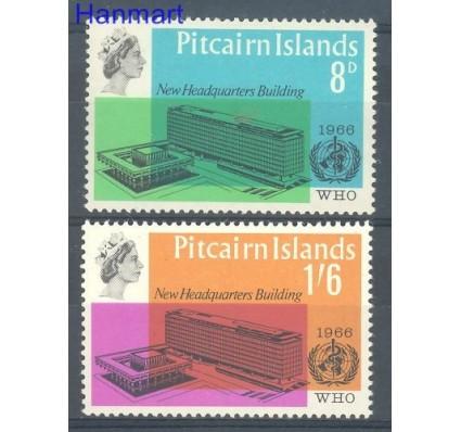 Znaczek Pitcairn 1966 Mi 62-63 Czyste **