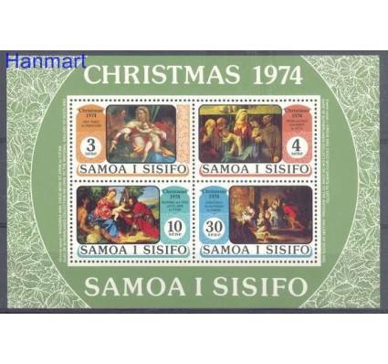 Znaczek Samoa 1974 Mi bl 7 Czyste **
