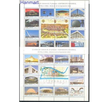 Znaczek Hiszpania 1993 Mi ark 3036-3059 Czyste **