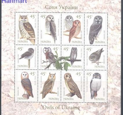 Znaczek Ukraina 2003 Mi ark 574-585 Czyste **