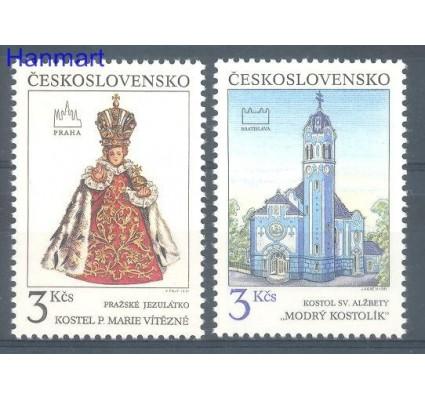 Znaczek Czechosłowacja 1991 Mi 3096-3097 Czyste **