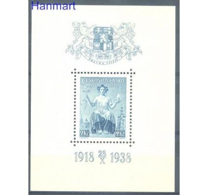 Znaczek Czechosłowacja 1938 Mi bl 5 Czyste **